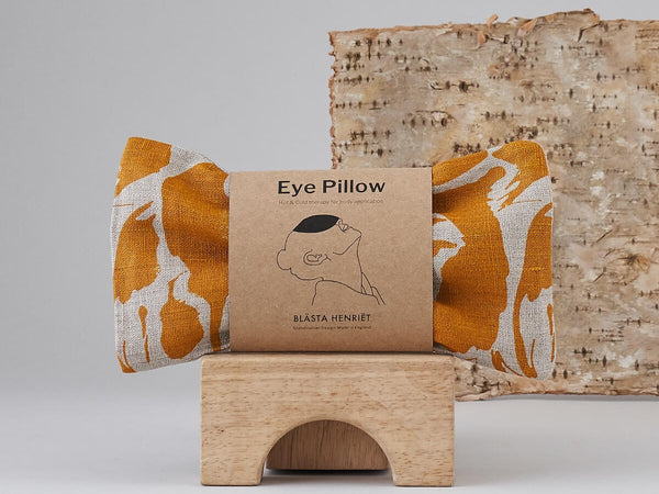 Eye Pillow Creatures Yellow