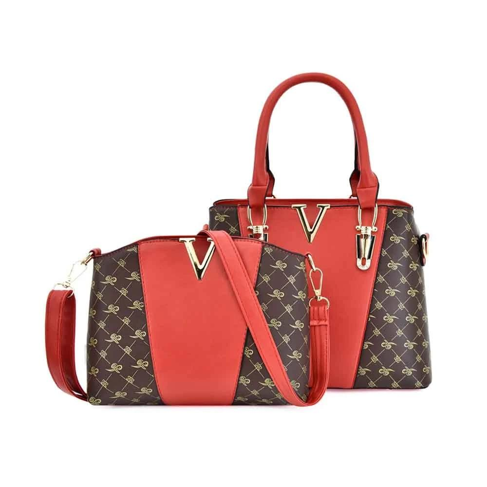 Women Composite Bag Patchwork Style