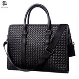 100% Genuine Leather Men's Business Bag