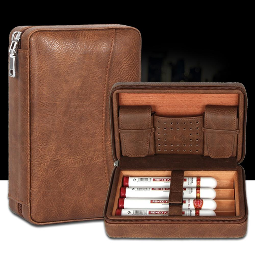 GALINER Portable Humidor Cigar Travel Case
