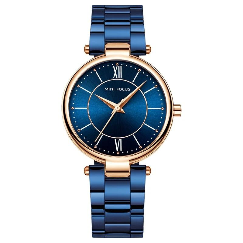 MINIFOCUS Waterproof Fashion Ladies Watch
