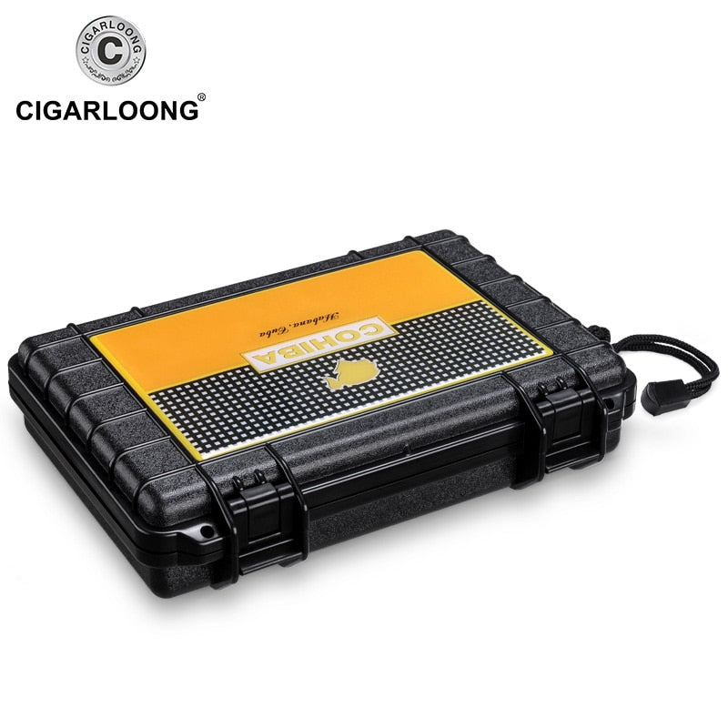Portable Waterproof Travel Cigar Case