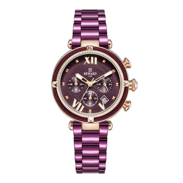 REWARD Waterproof Casual Quartz Ladies Watch