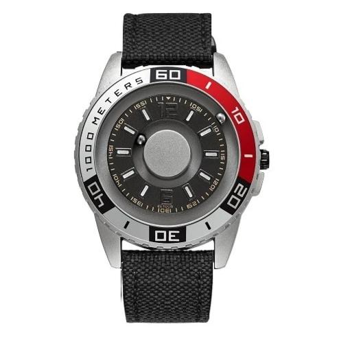 EUTOUR Magnetic Metal Multi-Function Mens Watch