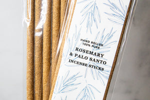 Rosemary & Palo Santo Incense — 7 Pack