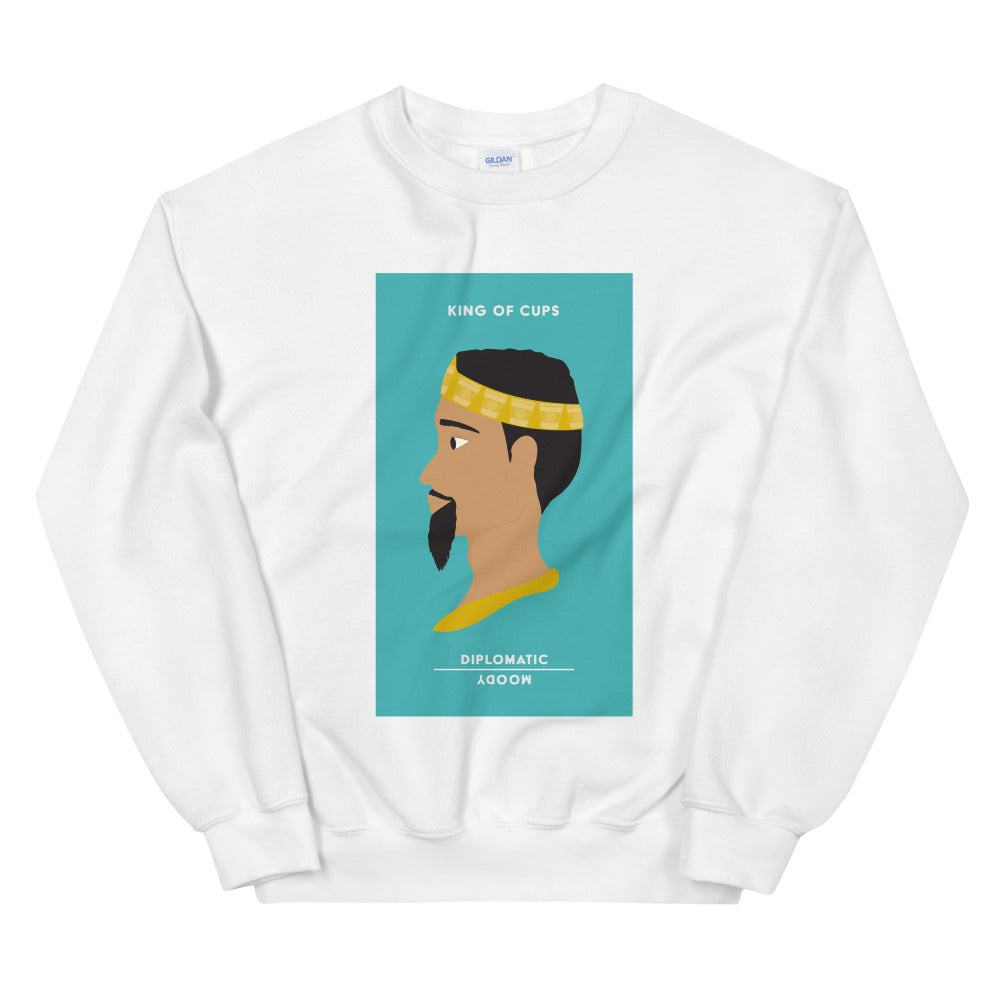 King of Cups Tarot Edition Sweatshirt