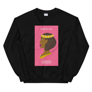 Queen of Cups Tarot Edition Sweatshirt