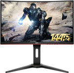 "AOC 23.6"" Curved 1ms 144Hz Full HD FreeSync Ultra Narrow Border Gaming Monitor"