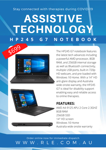 HP245 G7 Notebook