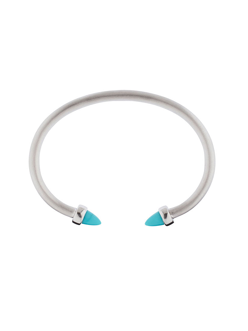 Freedom Silver Bracelet with Turquoise