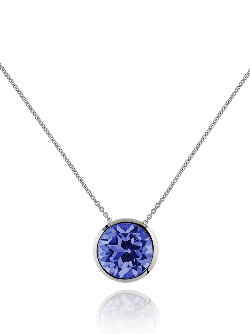 Juliet Silver Necklace With Iolite