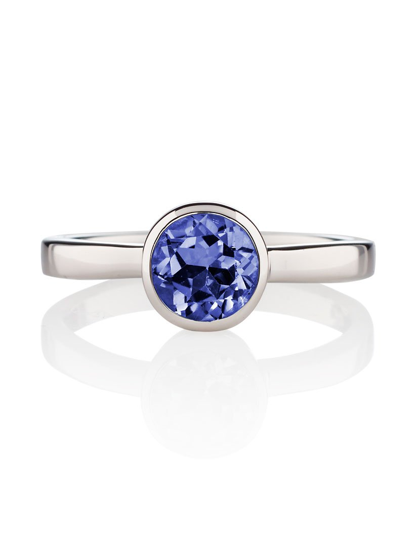 Juliet Silver Ring with Iolite