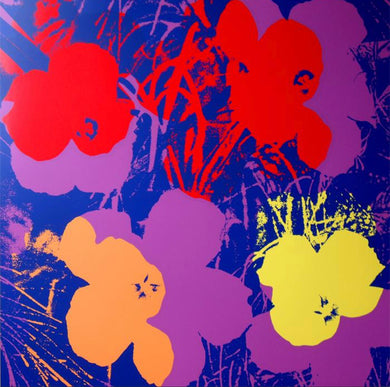ANDY WARHOL (American, 1928- 1987) Flowers 11.66 Screenprint on woven paper 36.00 × 36.00 inches (91.50 × 91.50 cm)