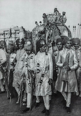 HENRI CARTIER-BRESSON (French, 1908-2004) Maharajah of Baria Arrives To Marry, Jaipur, 1948.