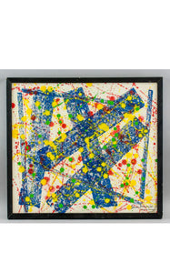 SAM FRANCIS Abstract Expressionist Oil on Canvas