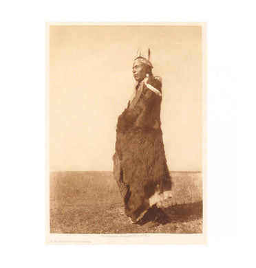 Edward S. Curtis (American, 1868–1952) A Blackfoot Soldier; Photogravure.