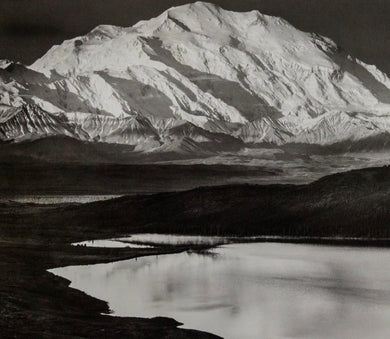 ANSEL ADAMS (American, 1902-1984) Mt. McKinley, Wonder Lake Denali National Park, Alaska 1947.