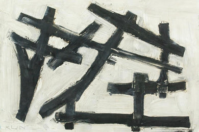 FRANZ KLINE (1910–1962) ABSTRACT XII