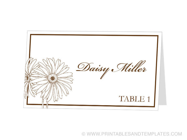 template for place cards 6 per sheet - avery card template