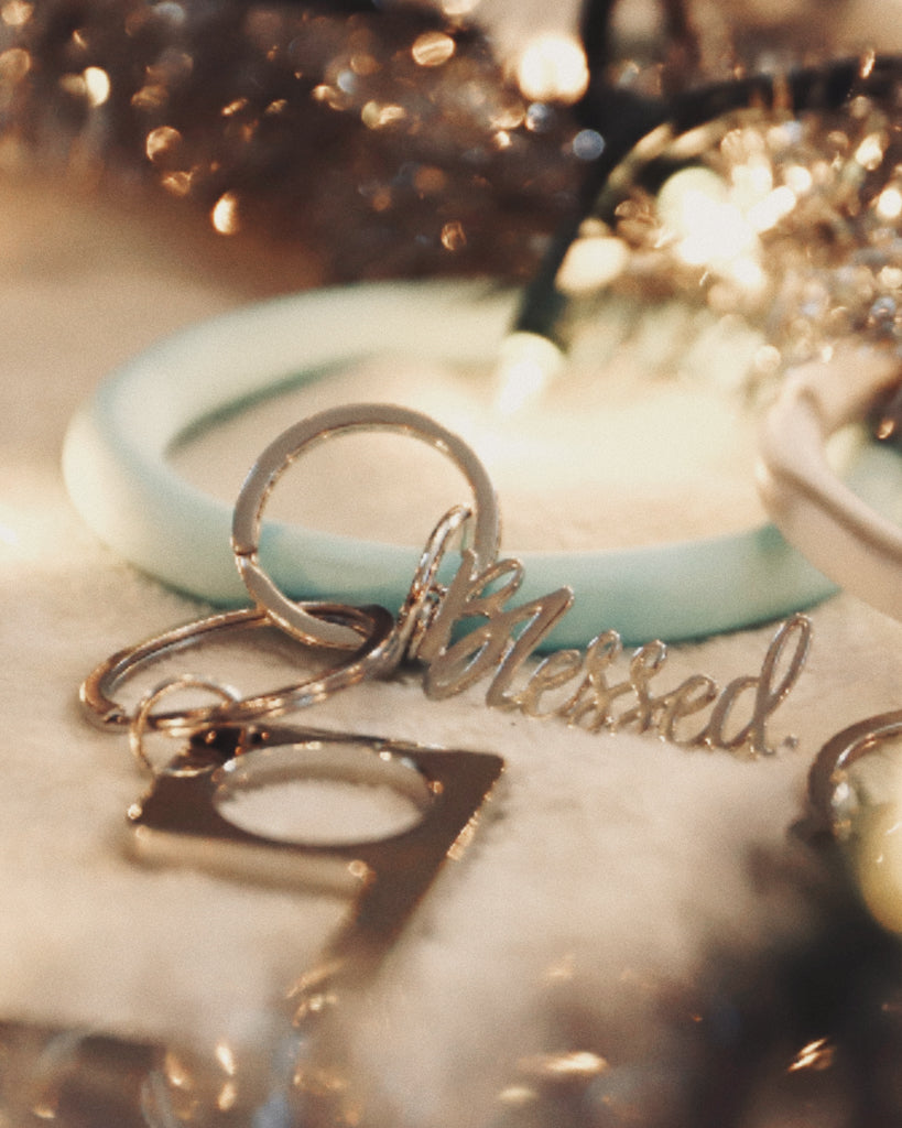 Blessed Key Ring Bracelet (3 Color Options)