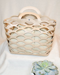 Ring Me Up Purse (Beige)