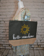 Load image into Gallery viewer, Hello Sunshine Tote Bag