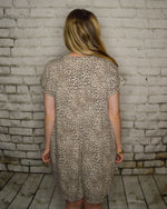 Load image into Gallery viewer, Brigit Leopard Jersey Dress