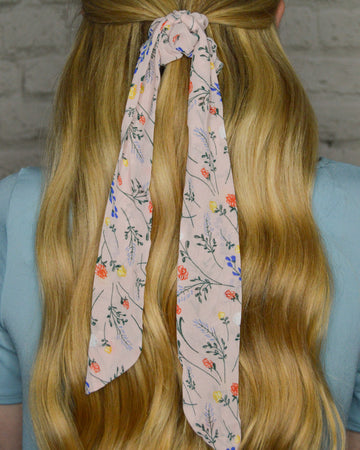 Floral Hair Scarf (4 Color Options)