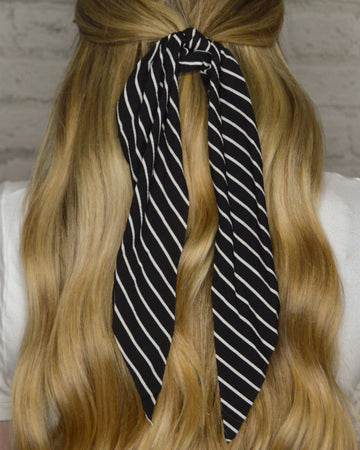 Striped Hair Scarf (2 Color Options)