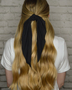 Solid Hair Scarf (Black)