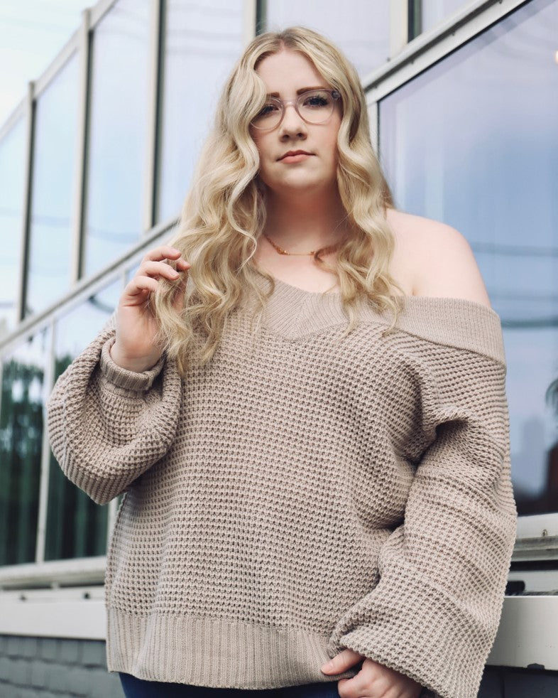 Moriah Off-Shoulder Sweater