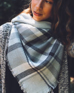 Load image into Gallery viewer, Linda Blanket Scarf