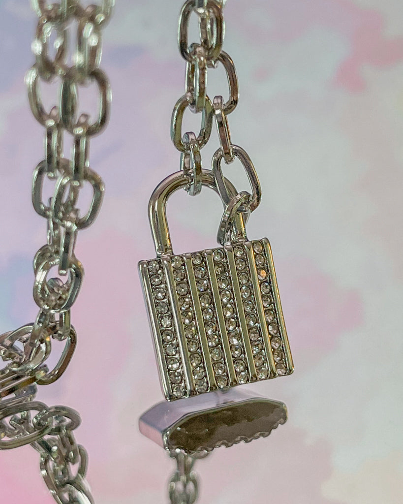 Lock It Up Necklace (2 Color Options)