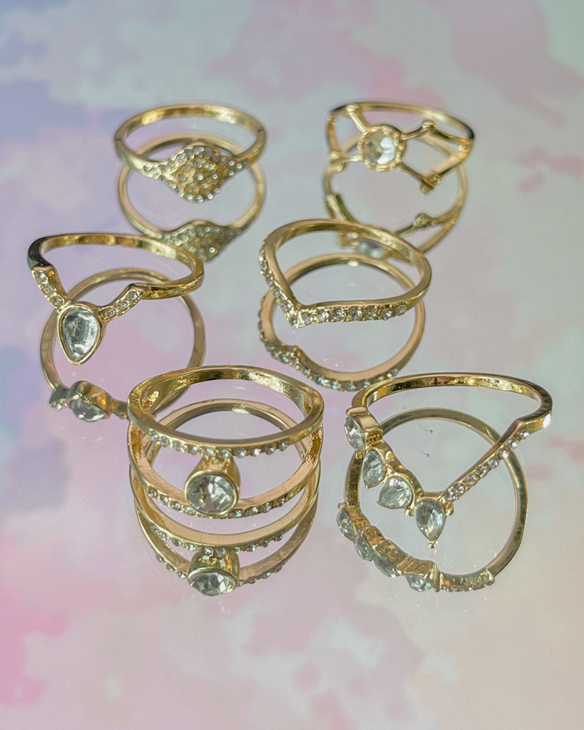 Bling It Up Ring Set
