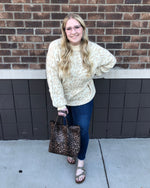 Load image into Gallery viewer, Cristi Leopard Sweater