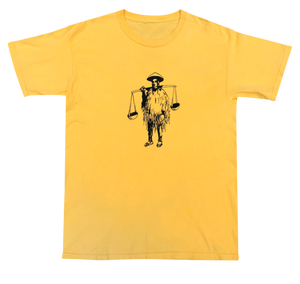 Shotta Man Tee (Yellow) - Shotta Spence