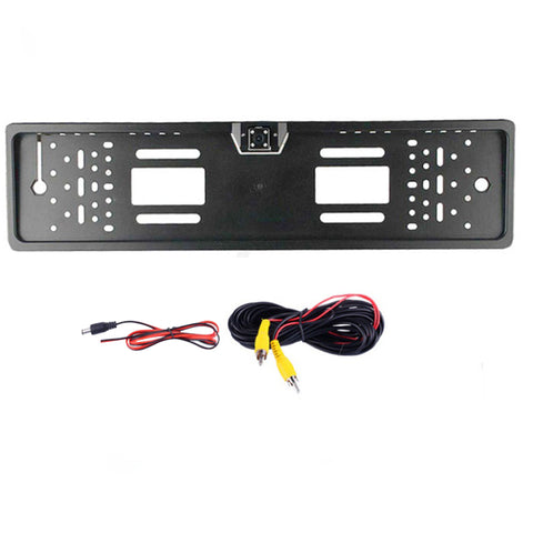 Image of After Frame Rear View Camera Frame 4 LED Lights Night Vision Waterproof Car Camera