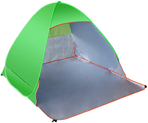 Image of Outdoor Automatic Pop Up Tents Portable Cabana Family Beach Tent