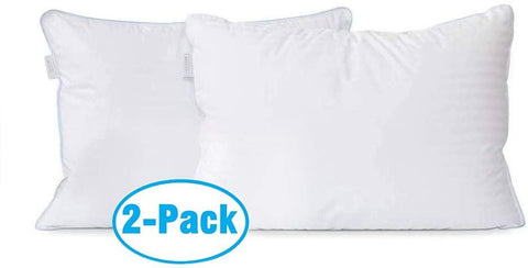 Image of Memory Foam Bamboo Cooling Hypoallergenic Sleep Pillows For Back And Side Sleeper