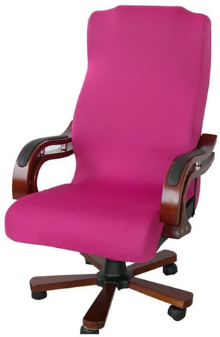 Image of Slipcovers Cloth Computer Office Rotating Stretch Polyester Desk Chair Cover