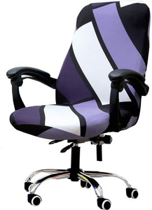 Computer Office Chair Covers Stretch Rotating Mid Back Chair Slipcovers