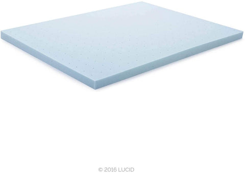 Image of Ventilated Gel Infused Memory Foam Mattress Topper