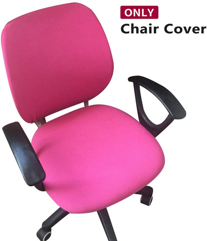 Image of Removable Rotating Armchair Computer Office Chair Slipcover