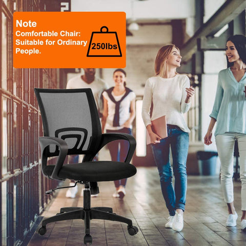 Home Office Chair Ergonomic Desk Chair Mesh Computer Chair with Lumbar Support