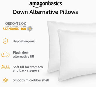 Alternative Bed Pillows For Stomach Back Sleepers Soft Density High Quality