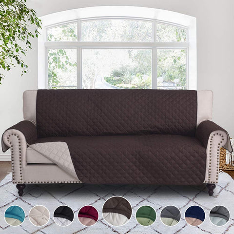 Image of Reversible Sofa Cover Couch Covers Sofa Covers Sofa Slipcover Couch Protector