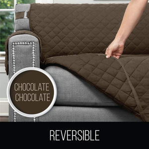 Sofa Reversible Small Sofa Protector Furniture Slipcover Couch Slip Cover Throw