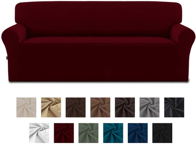 Stretch Sofa Slipcover Spandex Non-Slip Soft Couch Cover Washable Furniture Protector