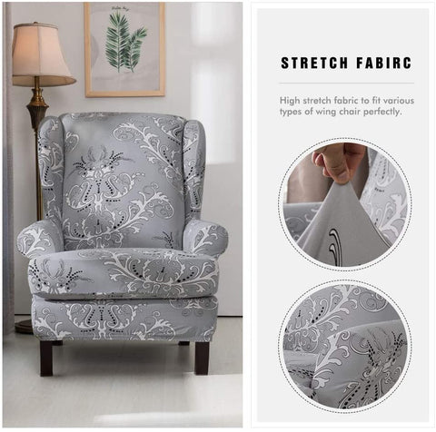 Image of Arm Chair Slipcovers Spandex Stretch Sofa Covers  Furniture Protector