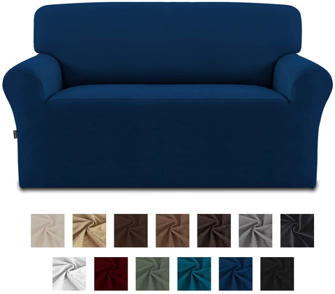 Image of Stretch Sofa Slipcover Spandex Non-Slip Soft Couch Cover Washable Furniture Protector